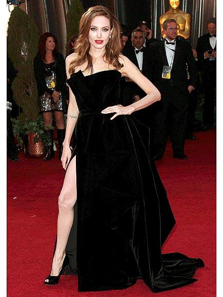 ANGIE'S RIGHT LEG photo | Angelina Jolie