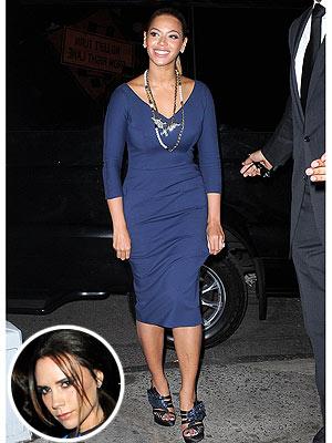 Beyonce Victoria Beckham Dress