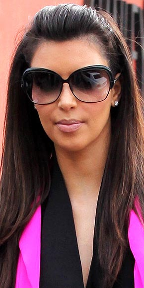 OMBRÉ LENSES photo | Kim Kardashian