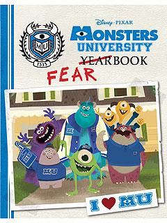 Monsters University Fearbook