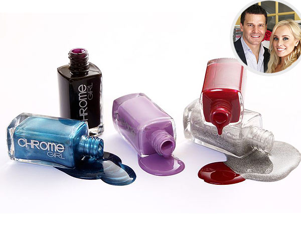 David Boreanaz All-Natural Nail Polish Chrome Girl