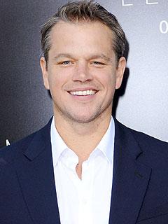 Matt Damon Elysium Premiere