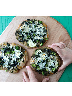 Weelicious Green Machine Pizza