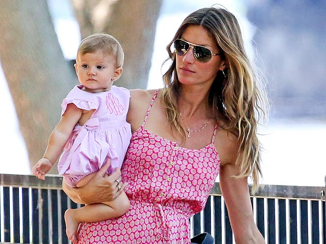 Gisele Bundchen And Tom Brady Family Photos