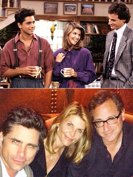 JOHN, LORI & BOB photo | Bob Saget, John Stamos, Lori Loughlin