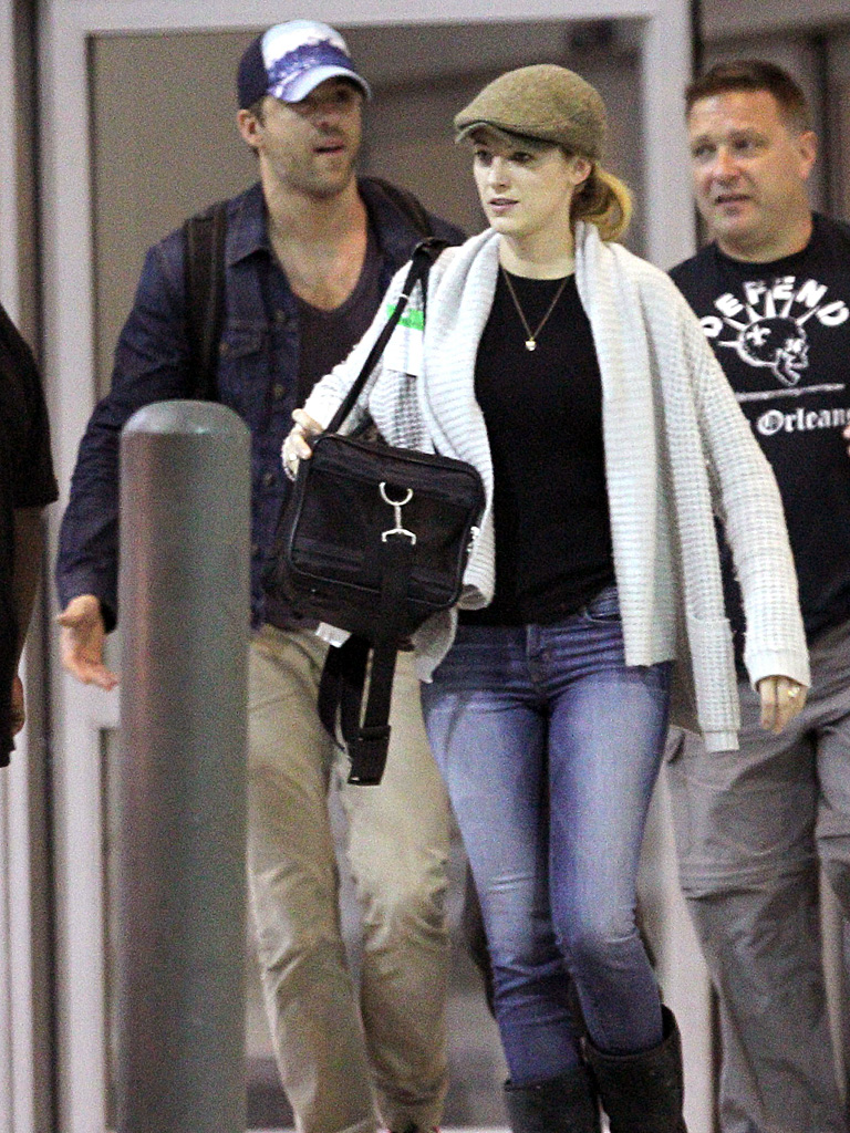 Blake Lively and Ryan Reynolds Keep It Casual in NOLA  New Orleans Blake Lively Ryan Reynolds
