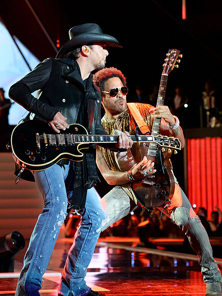 STRING THEORY photo | Jason Aldean, Lenny Kravitz