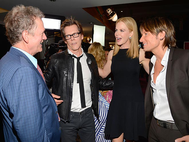CELEB CENTRAL photo | Keith Urban, Kevin Bacon, Michael Bacon, Nicole Kidman