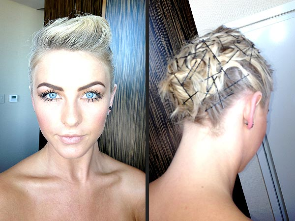 Julianne Hough Met Gala Hair