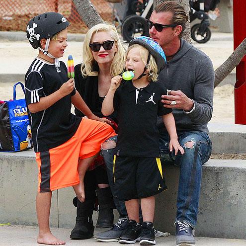 FAMILY FUN DAY photo | Gavin Rossdale, Gwen Stefani