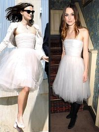 Keira Knightley Wedding Dress, Chanel Wedding Dress