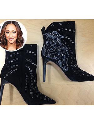 Tia Mowry boots
