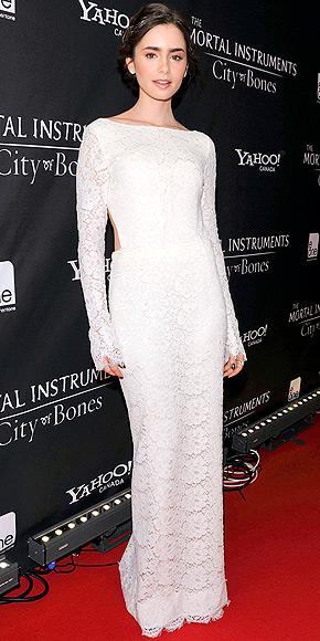 Style Spotlight Lily Collins The Democracy Diva