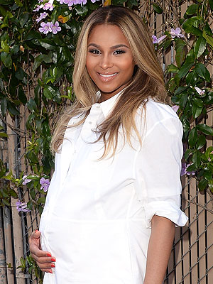 Ciara Pregnant Safe Kids Day