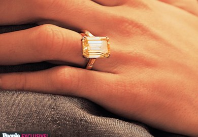 Amal Alamuddin S Engagement Ring From George People
