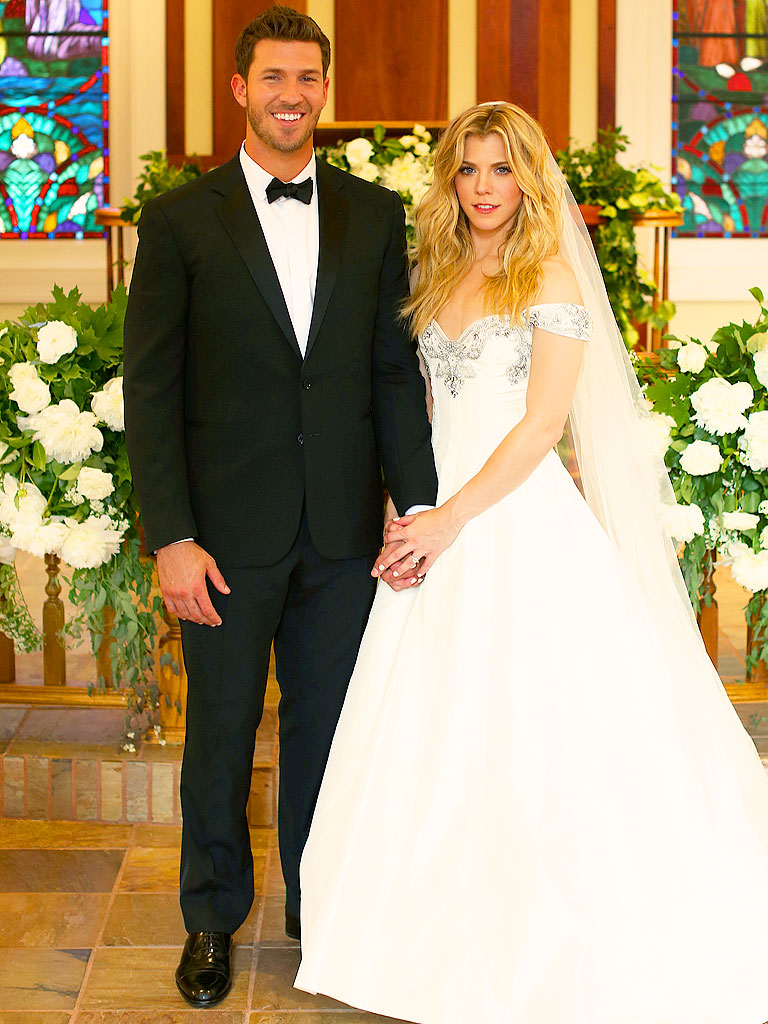 Kimberly Perry Official Wedding Photo With JP Arencibia