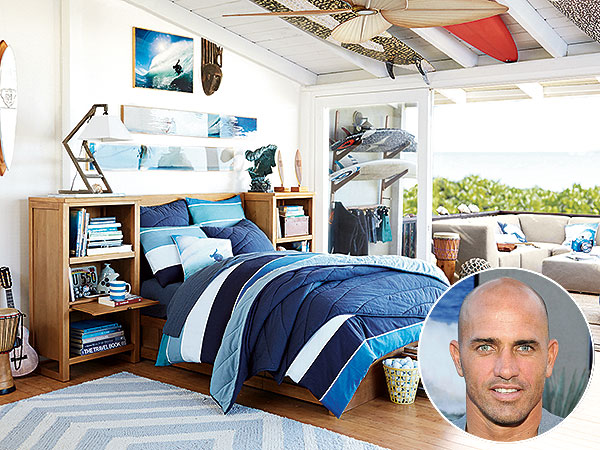 Kelly Slater Teams Up With Pbteen To Launch Cool Home