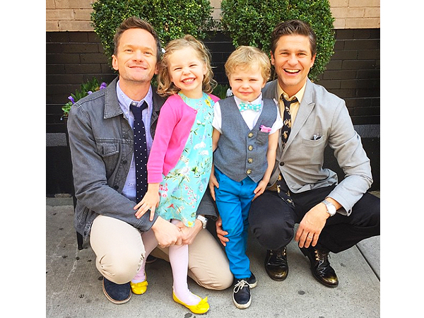 Image result for neil patrick harris kids