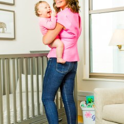 Sit Up Chair For Babies Tobias Clear Chrome Plated Inside Savannah Guthrie's Nursery Daughter Vale – Moms & Celebrity And Kids ...