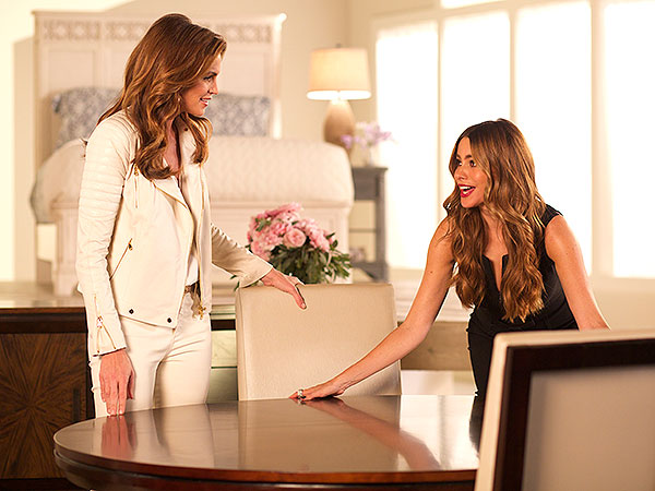 Sofia Vergara Cindy Crawford Behind the Scenes Rooms To