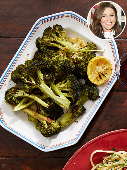 Rachael Rays Roasted Broccolini Recipe  Great Ideas