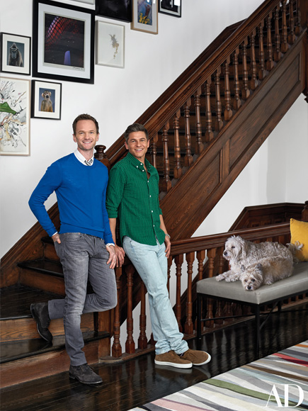 See Neil Patrick Harris and David Burtka's Renovated (and Amazing!) Harlem Townhouse (PHOTOS)| New York, Kids and Family, David Burtka, Neil Patrick Harris