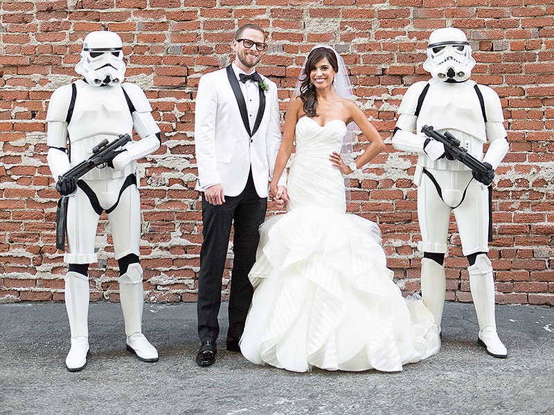 Star Wars Wedding Pictures  Peoplecom