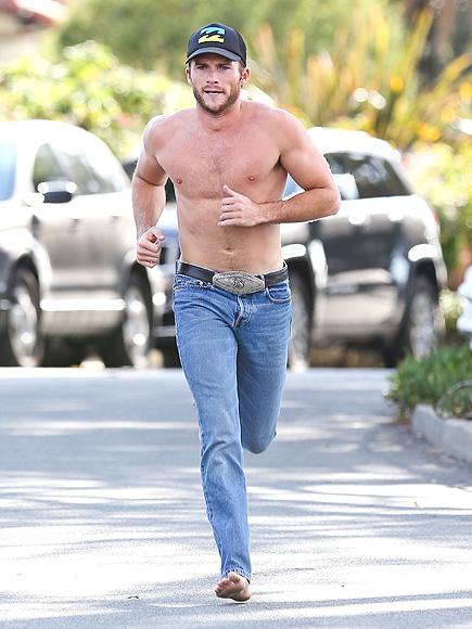 Scott Eastwoods Best Shirtless Moments Video  Peoplecom