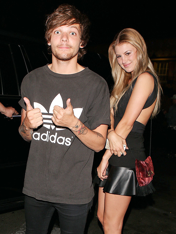 Louis Tomlinson Expecting Baby Briana Jungwirth