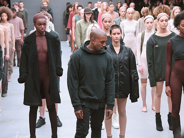 Celebs Attend The Yeezy X Adidas Runway Fashion Show