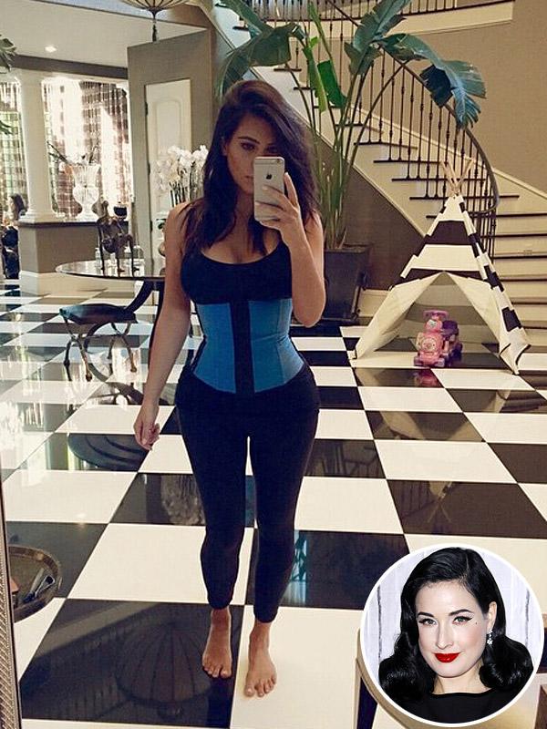 Dita Von Teese Criticizes Kardashian
