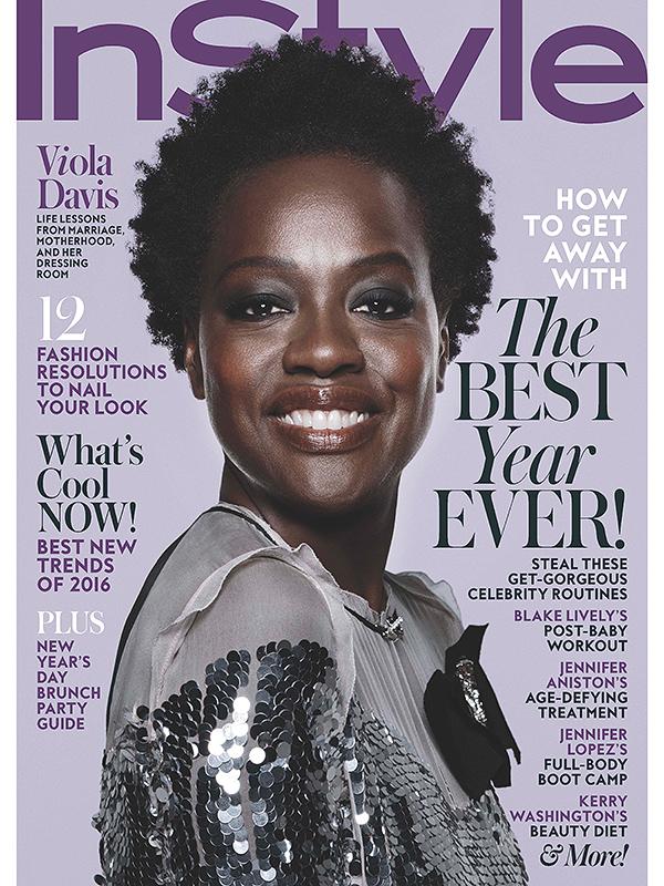 Viola Davis InStyle December