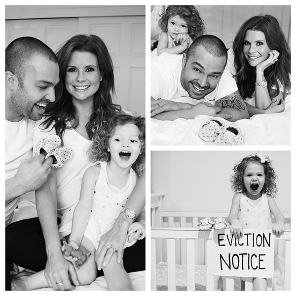Nick Swisher JoAnna Garcia Swisher pregnant expecting second daughter