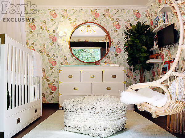 Willa Fords Boho Chic Nursery And Meaningful Maternity
