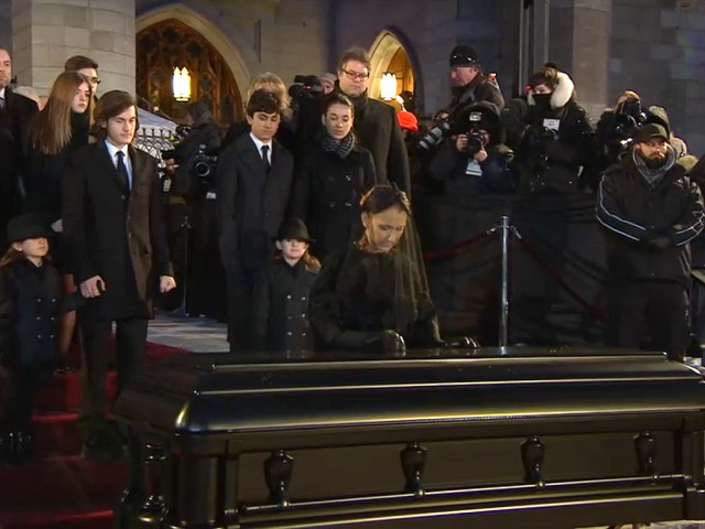 Céline Dion's Former Flower Girl and Ring Bearer Led Processional at René Angélil's Funeral, Poignantly Evoking Their Wedding| Celine Dion, Rene Angelil
