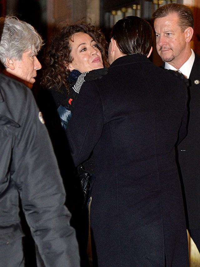 Leonardo DiCaprio Kisses Lucky Female Fan in Rome, Giving Hope to Women Everywhere| Academy Awards, Golden Globe Awards 2016, Golden Globes, Oscars 2016, Movie News, Leonardo DiCaprio