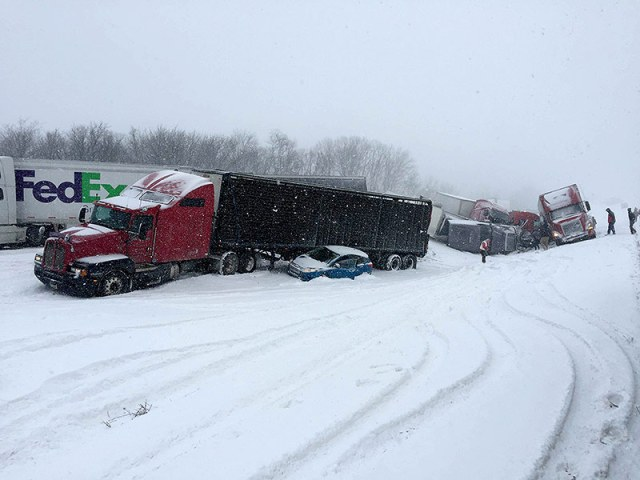 'It Was a Total Whiteout': Severe Weather Causes 50-car Pileup in Pennsylvania, Leaving at Least 3 Dead| Death