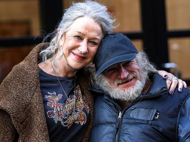 Helen Mirren, 70, Goes Full Rocker on Film Set, Complete with Grateful Dead Tee – and Still Looks Fabulous| Helen Mirren, Kate Winslet, Will Smith