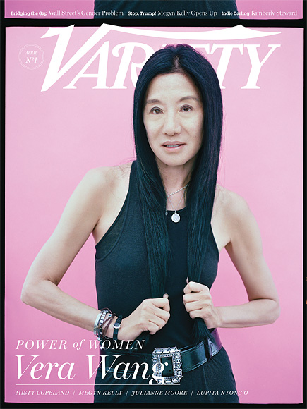 First Look: Lupita Nyong'o, Julianne Moore and More Cover Variety's Power of Women Issue| Variety, Julianne Moore, Lupita Nyong'o, Vera Wang