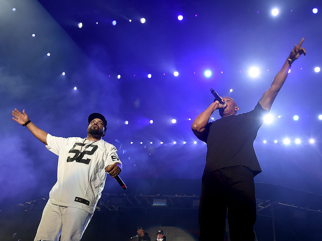 WATCH: N.W.A. Reunites at Coachella! See Dr. Dre, Ice Cube and More Perform Together| N.W.A, The Coachella Music and Arts Festival, Music News, Dr. Dre, Ice Cube