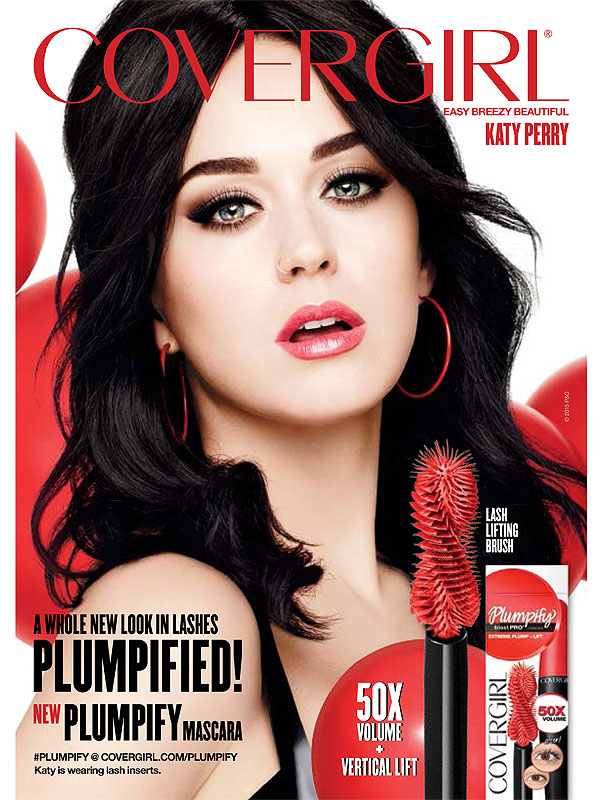 Katy Perry CoverGirl ad