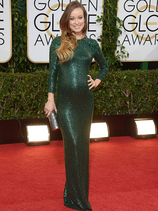 Olivia Wilde Golden Globes 2014