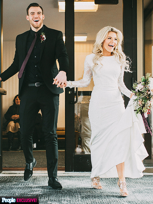 Witney Carson wedding photos