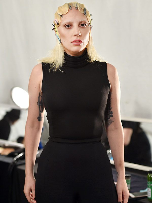 Lady Gaga Marc Jacobs Fashion Show