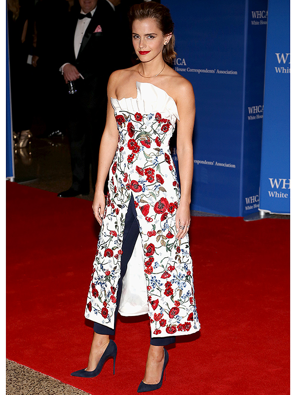 Emma Watson at White House Correspondents' Dinner