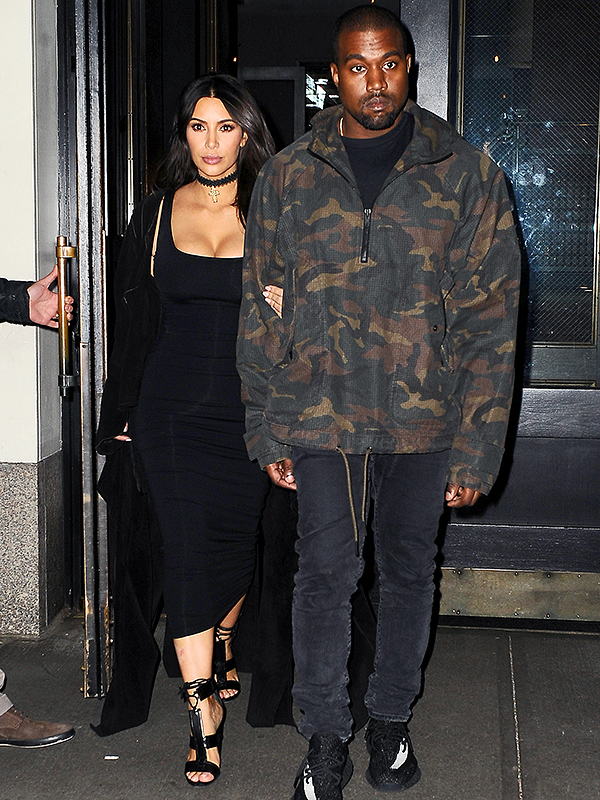 Kim Kardashian and Kanye West Before Met Gala