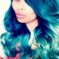 Blac chyna dyes hair aqua after reality show announcement style