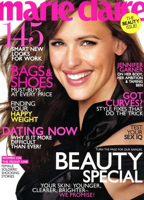 Jennifer Garner Magazine Cover