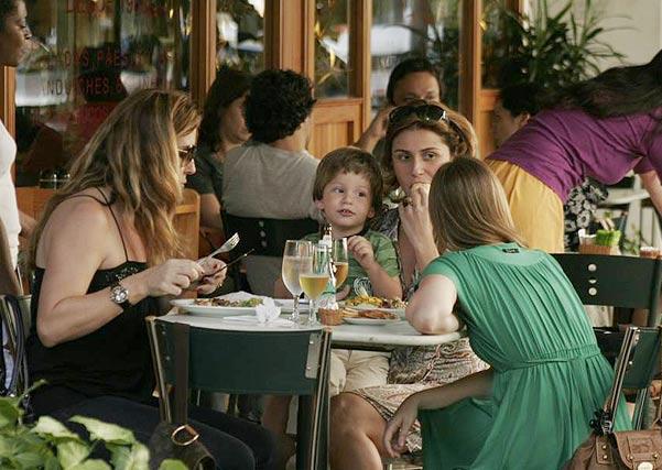 Giovanna Antonelli with son Pietro in Rio de Janeiro