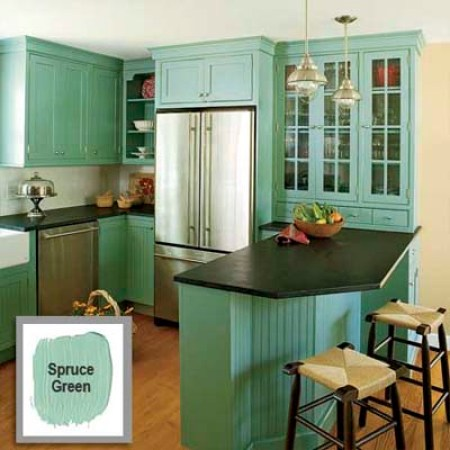 Paint Cabinets for Kitchen Facelift